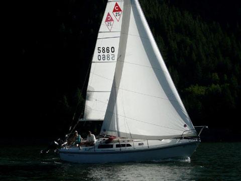 Catalina 25, 1989, Basalt, Colorado sailboat