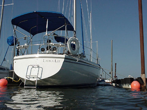 Catalina 36, 1986, sailboat