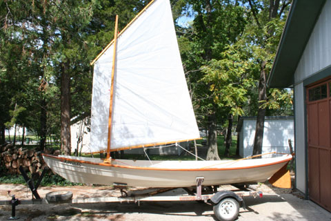 Downeast Dory by Chesapeake Light Craft, 2012 sailboat
