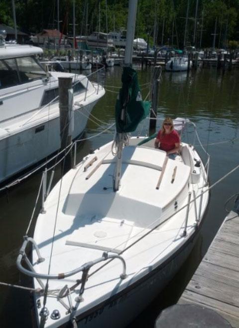 Com-Pac Yacht 19', 1983 sailboat
