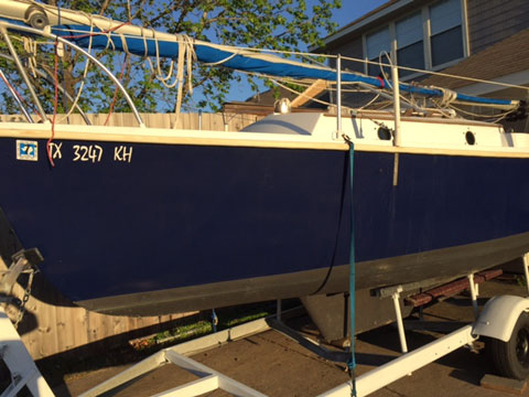Lowrance Depth Finder >> Compac (Hutchins) 19, 1983, Allen, Texas, sailboat for ...