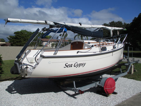 Com-Pac Eclipse 21, 2004, sailboat