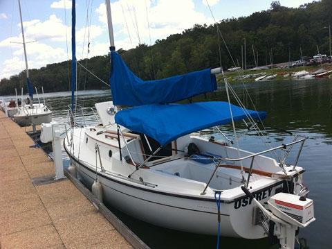 ComPac 23 Mark 2, 1984 sailboat
