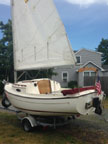 2009 ComPac Sun Cat sailboat