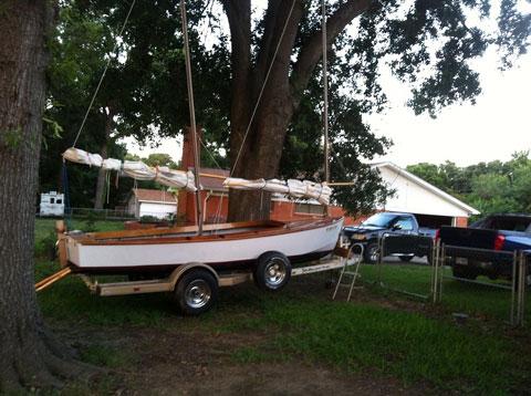 Core Sound 17, 2012 sailboat