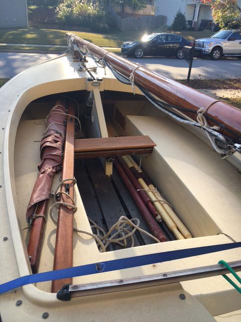 Cornish Crabber Cormorant 12 sailboat