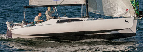 Corsair  F-27 trimaran, 1987 sailboat