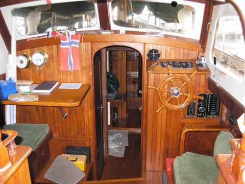 CT 41, 1973 sailboat