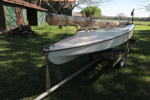 Dolphin Sr. 14', 1970s sailboat