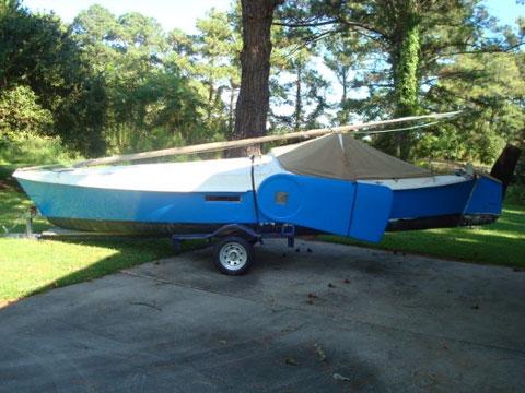 Bolger Dovekie, 21 ft., 1984 sailboat