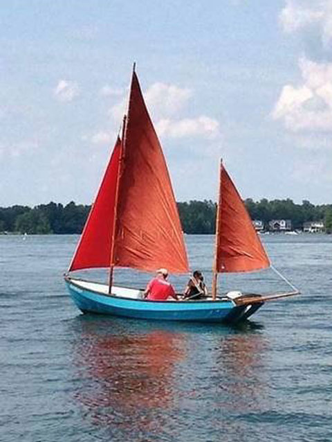 Drascombe Lugger, 1969 sailboat