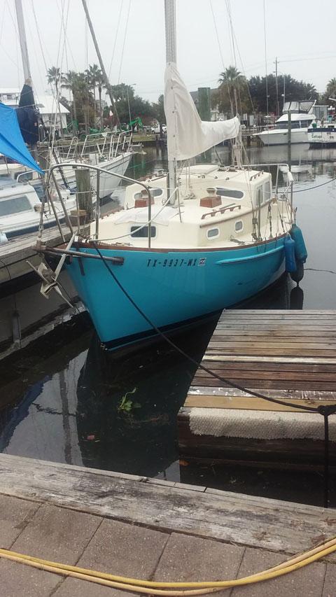 Eastward Ho, 1974, 24 ft., sailboat