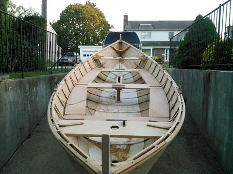 Scandinavian Faering sailboat