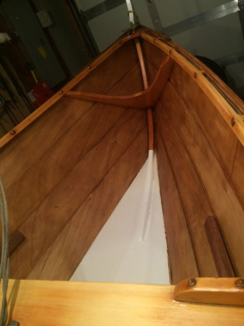 Scandinavian Faering sailboat