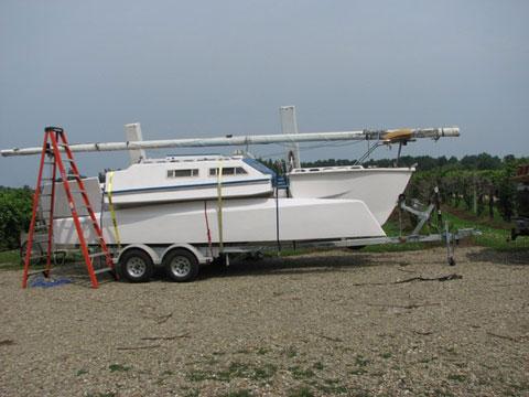 Project TT720 sailboat