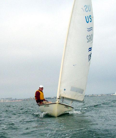 Olympic Finn Class USA462, 1970s sailboat