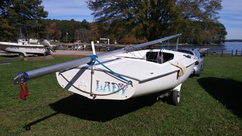 Flying Scot, 1983 sailboat