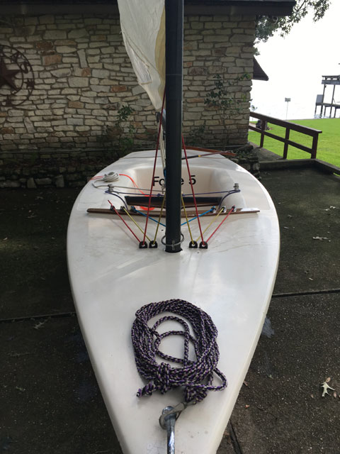 FORCE 5, 1981 sailboat