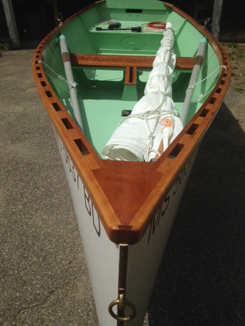 Goat Island Skiff, 2014, Boxford, Massachusetts, sailboat for sale from Sailing Texas, yacht for ...