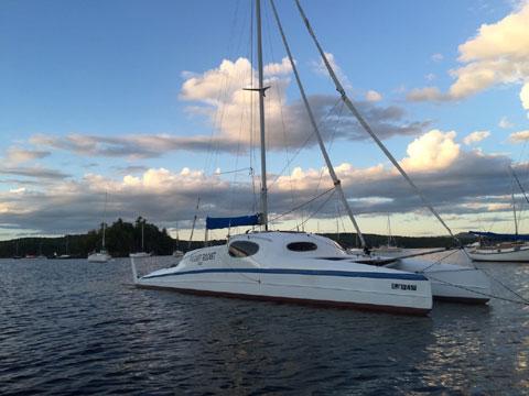 Gougeon 32 Catamaran sailboat