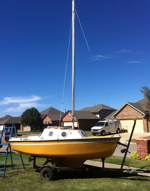 Guppy 13, 1975 sailboat