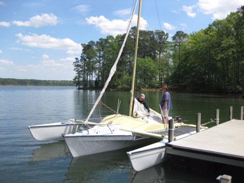 Haines Hunter Tramp Trimaran, 1983 sailboat