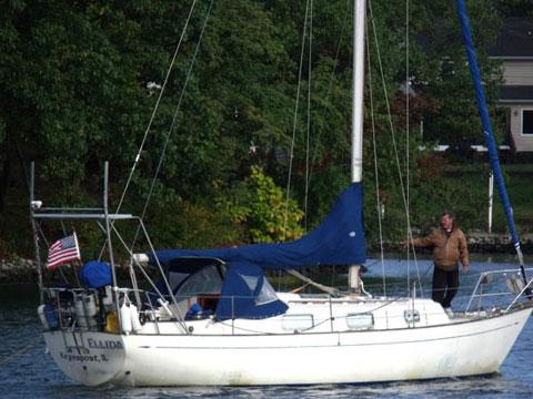 Hallberg Rassy Monsun 31, 1974 sailboat