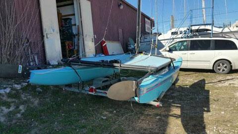 Hobie 16, 1988 sailboat