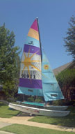 1988 Hobie 16 sailboat