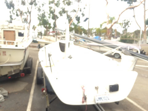 Hobie 25 'Magic' sport boat, 1993, Dana Point, California sailboat