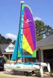 2003 Hobie Wave sailboat