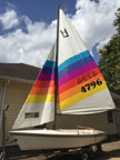 1986 Holder 14 sailboat