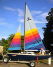 1988 Holder 14 sailboat