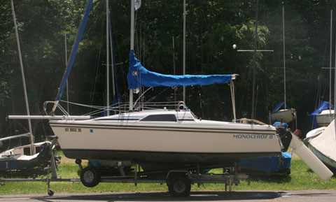 Hunter 18.5, 1991 sailboat