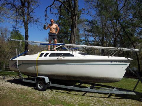 Hunter 235, 1993, Fayetteville, Arkansas, sailboat for sale