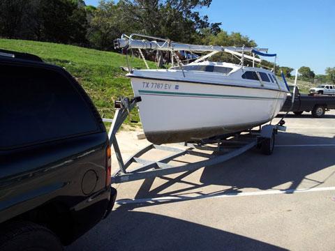 Hunter 235, 1993 sailboat