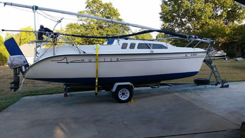 Hunter 240, 1988 sailboat