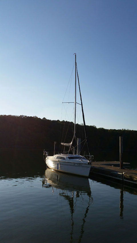 Hunter 240 1998 Athens Alabama Sailboat For Sale From