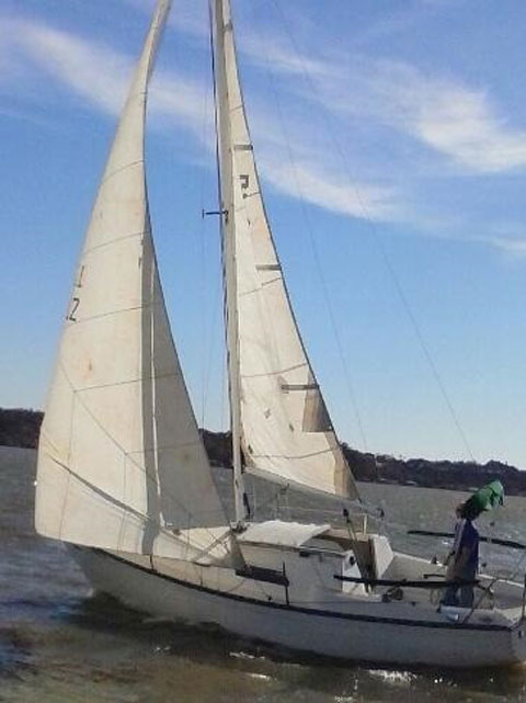 Hunter 25, 1978, Eagle Mountain Lake, Texas, sailboat for