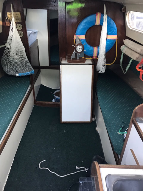 Hunter 25, 1977 sailboat