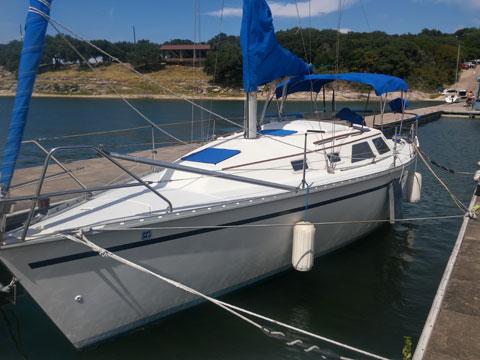 Hunter 28, 1992, Canyon Lake, Texas sailboat