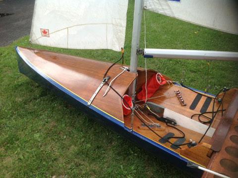 International Canoe (IC), 17 ft., 1989 sailboat