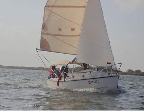 Compac 16, 1978 sailboat