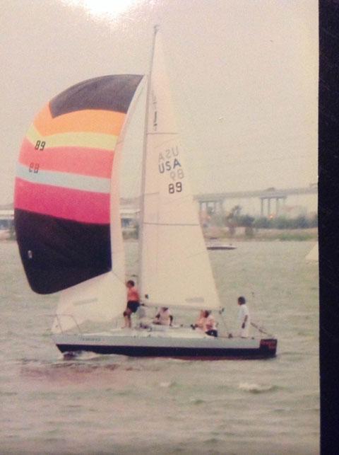 J24, 1977 sailboat