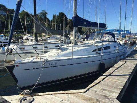 Jeanneau Sun Odyssey 37, 2001 sailboat