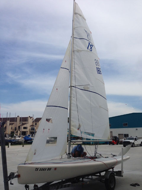 Johnson 18, 1997 sailboat