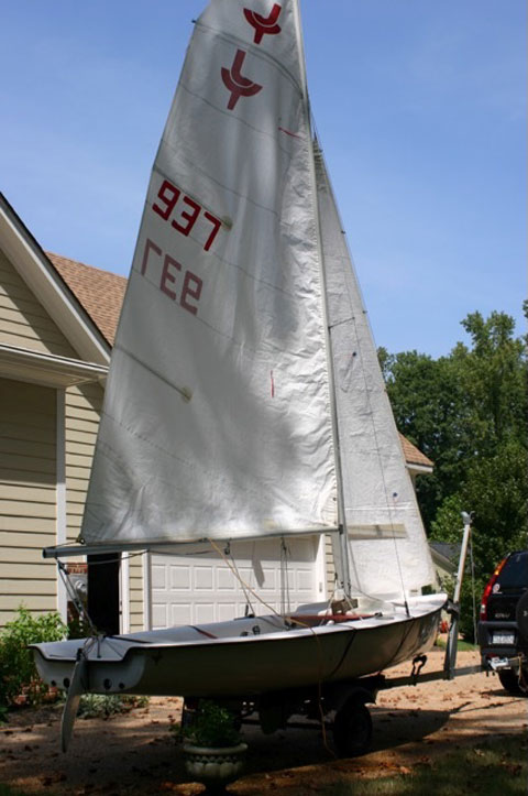 JY 15 Sailboat and Trailer sailboat
