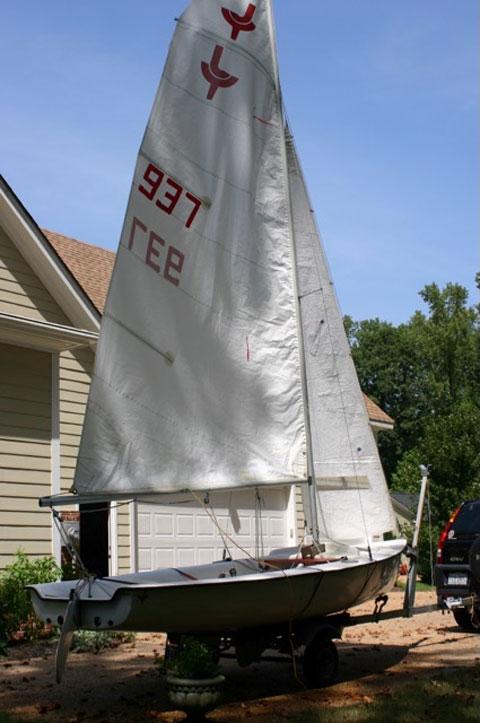 JY 15 Sailboat and Trailer sailboat