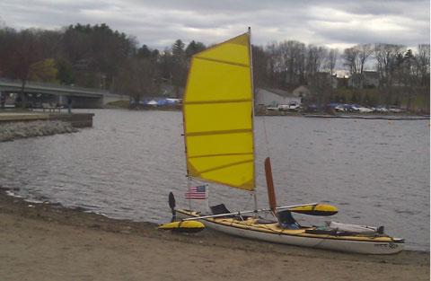 Wilderness Systems Skookumchuck Tandem Kayak, 21 ft., 1991 sailboat