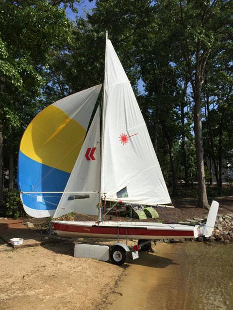 Laser 2 Regatta, 2002 sailboat